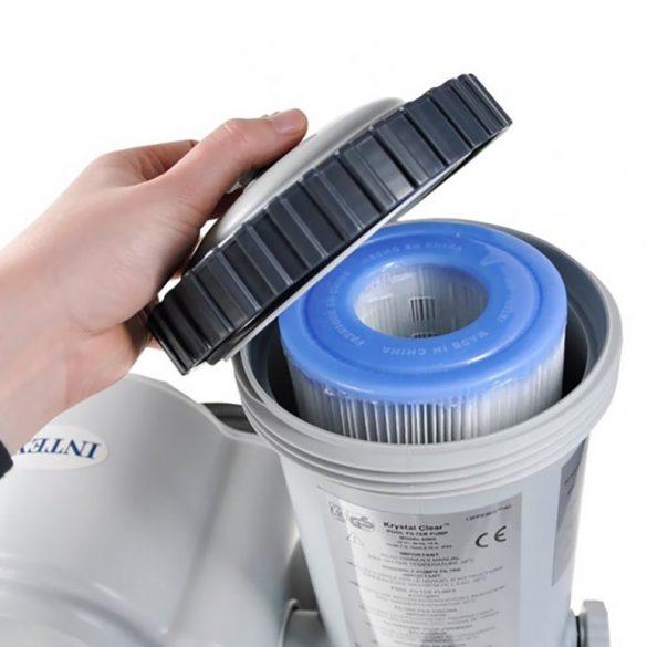 INTEX KrystalClear, Papírszűrős vízforgató 9,4m3/h (28634)