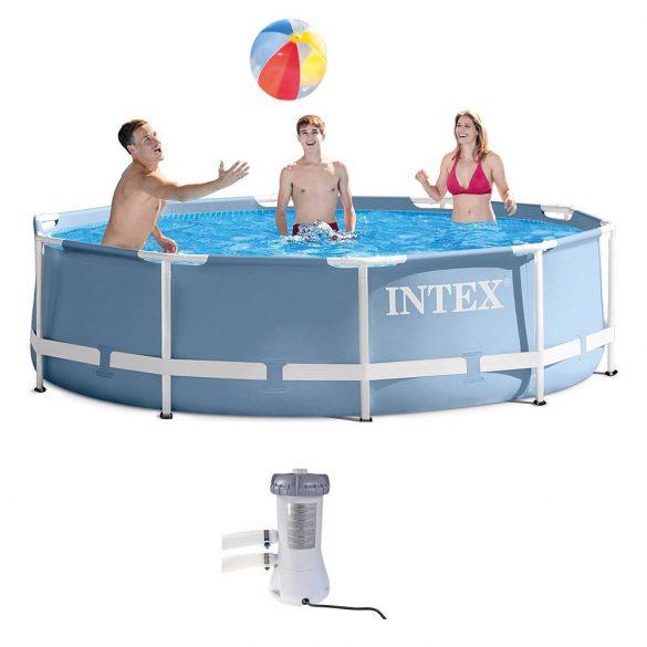 INTEX KrystalClear, Papírszűrős vízforgató 3,8m3/h (28638)