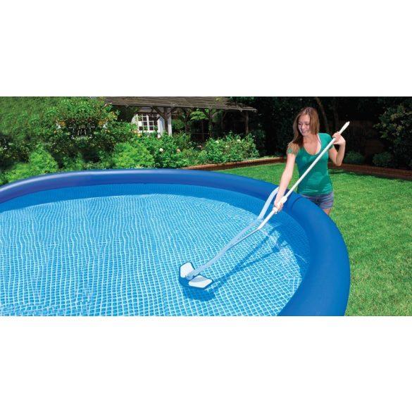 INTEX Deluxe medence tisztító szett, merítő háló, porszívófej, kefe (29057)