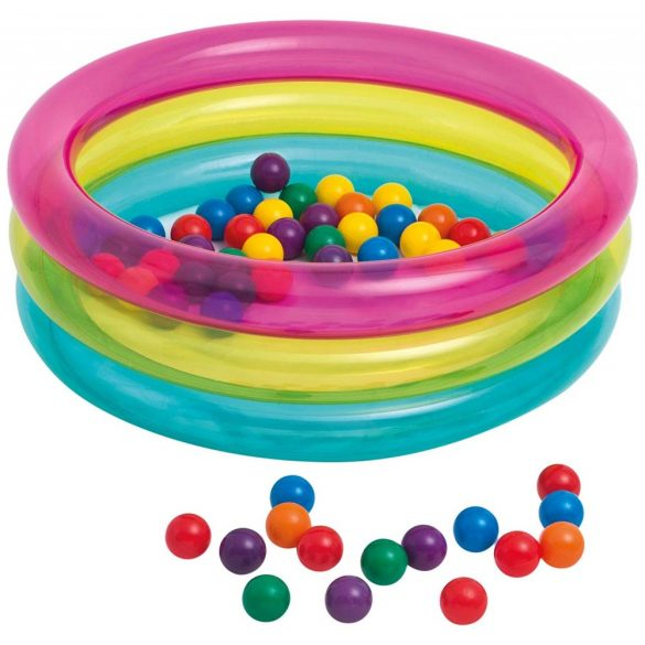 INTEX Classic 3-Ring Baby Ball Pit baba járóka D86 x 25cm (48674)
