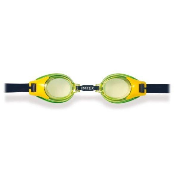 INTEX Junior búvárszemüveg sárga/zöld (55601)