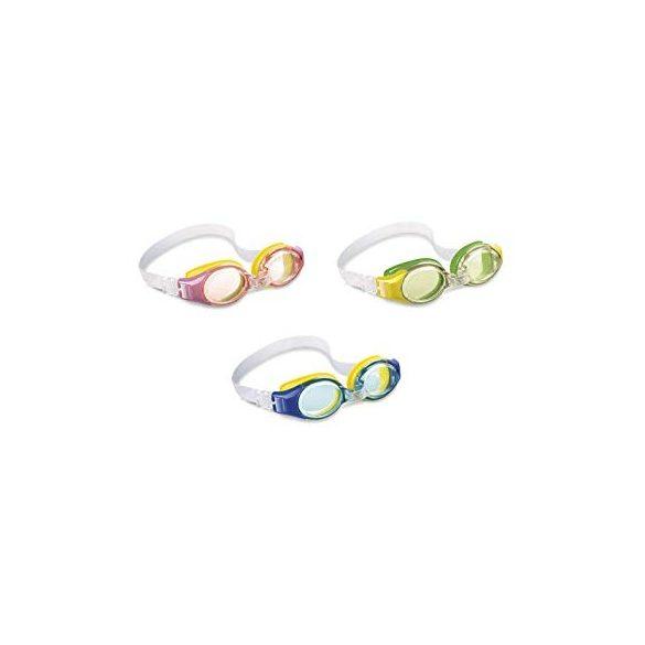 INTEX Junior búvárszemüveg rózsaszín/sárga (55601)