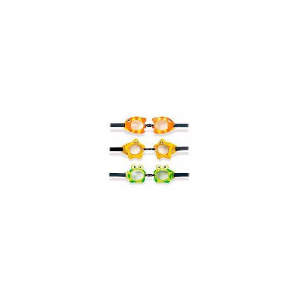 INTEX Fun búvárszemüveg sárga (55603)