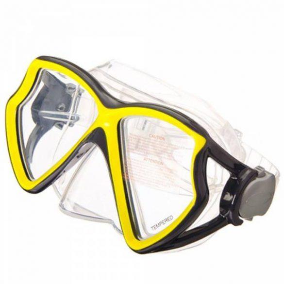 INTEX Aviator Pro búvárszemüveg sárga (55980)