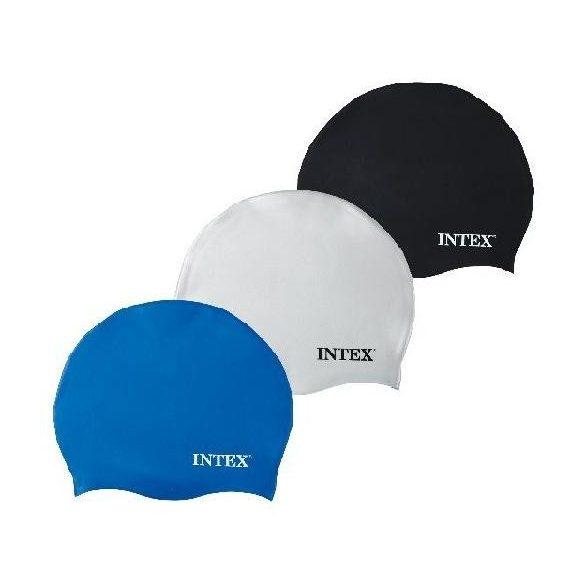 INTEX Szilikonos Úszósapka kék (55991)