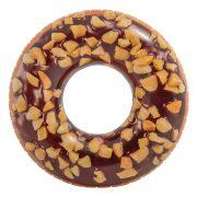 INTEX Nutty Chocolate Donut Tube úszógumi D114 cm (56262)