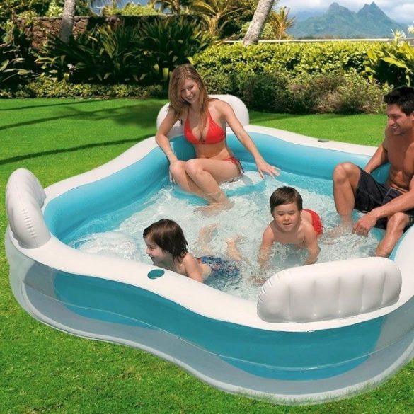 INTEX Family Lounge Swim Center medence 229 x 229 x 66cm (56475)