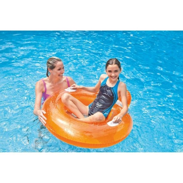 INTEX Candy Color Lounge narancssárga úszógumi D102cm (56512)