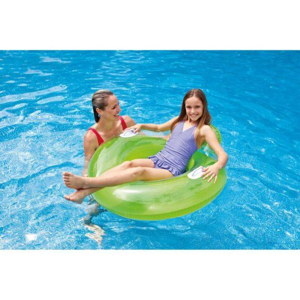 INTEX Candy Color Lounge zöld úszógumi D102cm (56512)