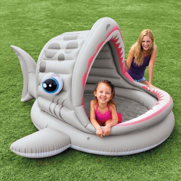 INTEX Roarin Shark medence 201 x 198 x 109cm (57120)