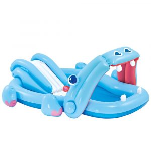 INTEX Hippo Play Center élménymedence 221 x 188 x 86cm (57150)