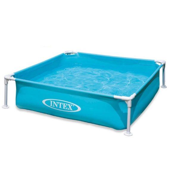 INTEX Metal medence 1,22m x 1,22m x 30cm, kék (57173)
