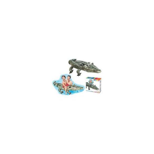 INTEX felfújható aligátor 170 x 86cm (57551)
