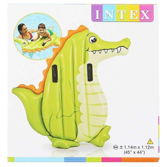 INTEX állatos szörfdeszka krokodil 114 x 112cm (58151)