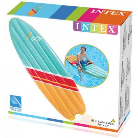 INTEX Szörfre fel! gumimatrac, narancssárga/kék, 178 x 69cm (58152)