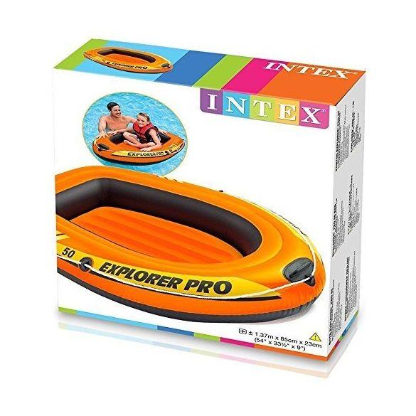 INTEX Explorer Pro 50 felfújható gumicsónak (1 személyes) 137 x 85 x 23cm (58354)