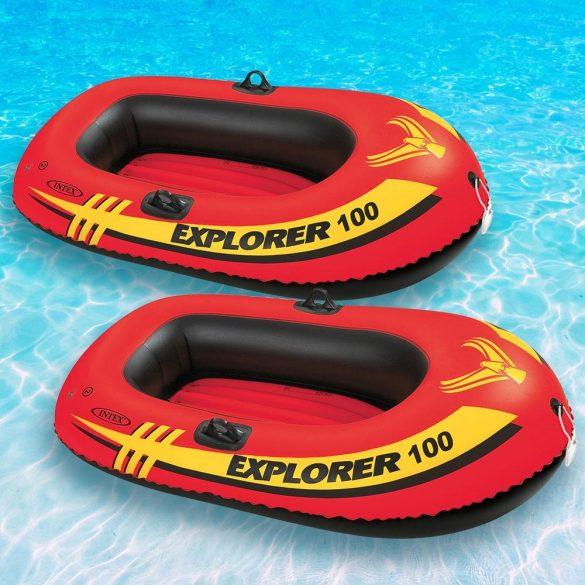 INTEX Explorer Pro 100 felfújható gumicsónak (1 személyes) 160 x 94 x 29cm (58355)