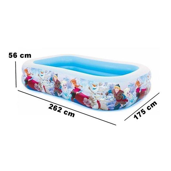 INTEX Frozen Jégvarázs Swim Center medence 262 x 175 x 56 cm (58469)