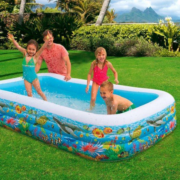 INTEX Tropical Reef Swim Center medence 305 x 183 x 56cm (58485)