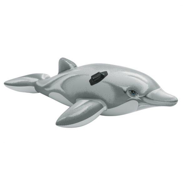 INTEX felfújható szürke delfin 201 x 76cm (58539)