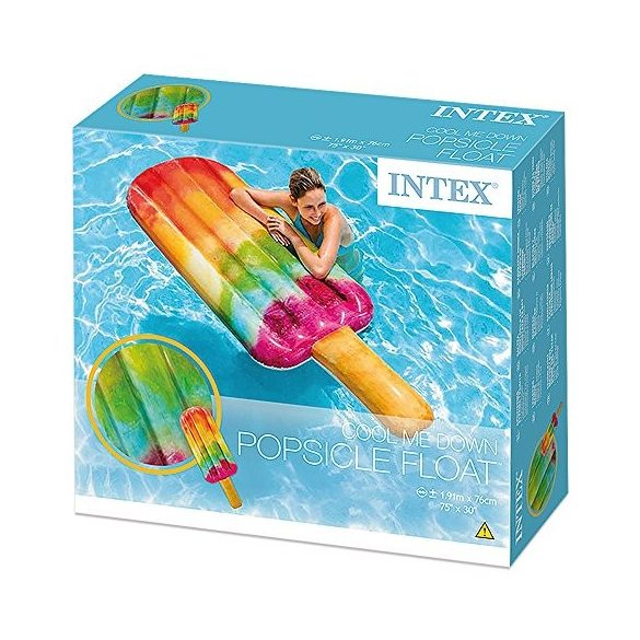 INTEX Popsicle jégkrém alakú gumimatrac 191 x 76 cm (58766)