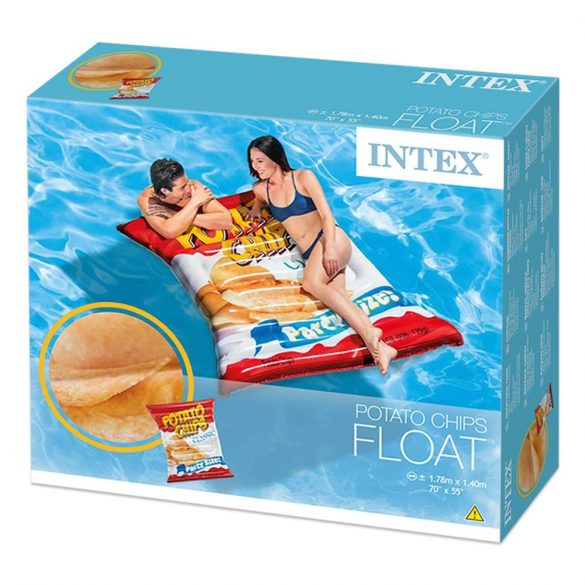 INTEX Potato Chips gumimatrac 178 x 140 cm (58776)