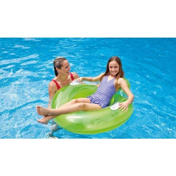 INTEX Sit n Lounge zöld úszógumi D119cm (58883)