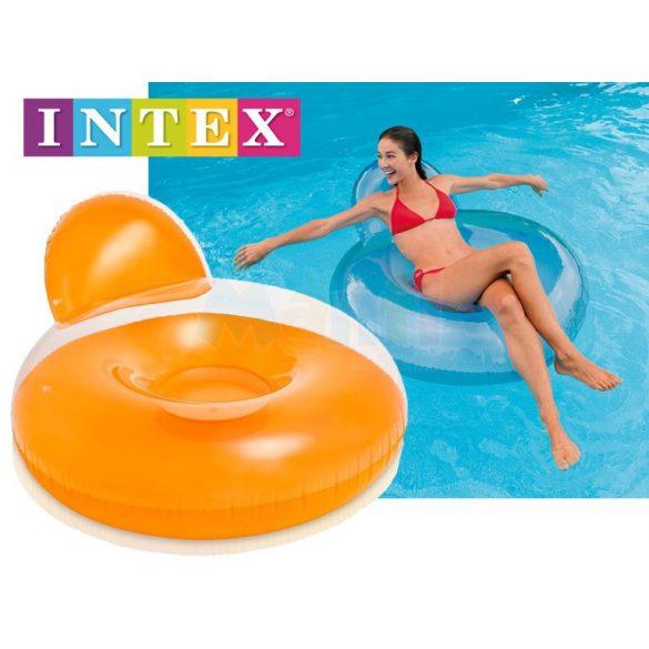 INTEX Pillow Back Lounge kék úszógumi D119cm (58889)