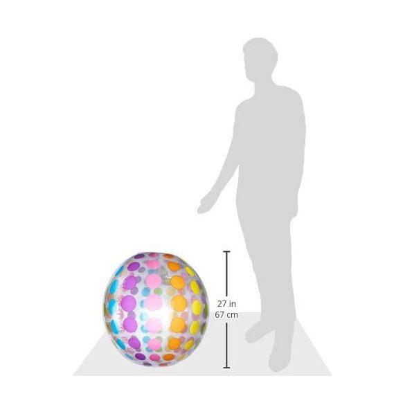 INTEX pöttyös mintás strandlabda D107cm (59065)