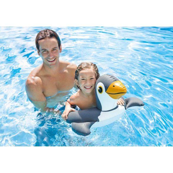 INTEX állatos úszógumi pingvin 64 x 64cm (59220)