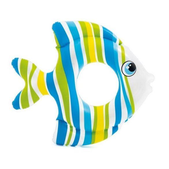 INTEX trópusi hal úszógumi kék 83 x 81cm (59223)