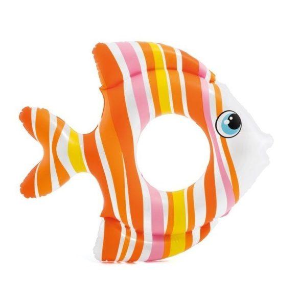 INTEX trópusi hal úszógumi narancssárga 83 x 81cm (59223)