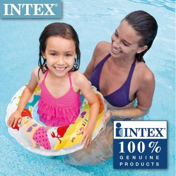 INTEX fehér sellőmintás úszógumi D61cm (59242)