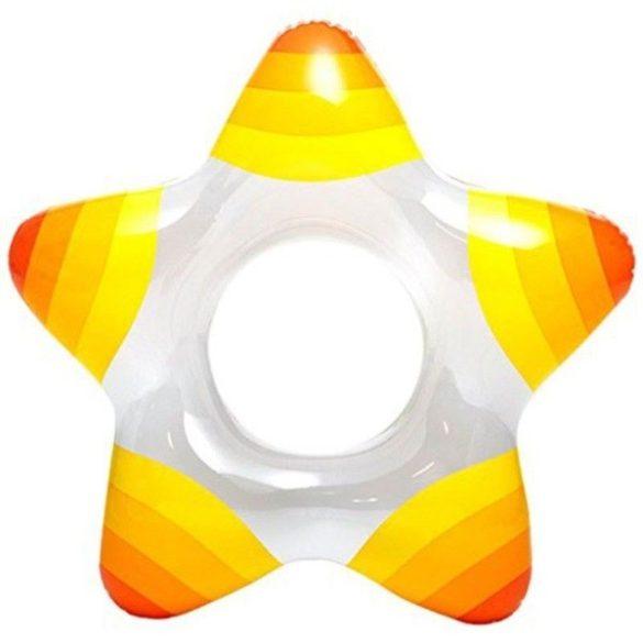 INTEX sárga csillagalakú úszógumi 74 x 71cm (59243)