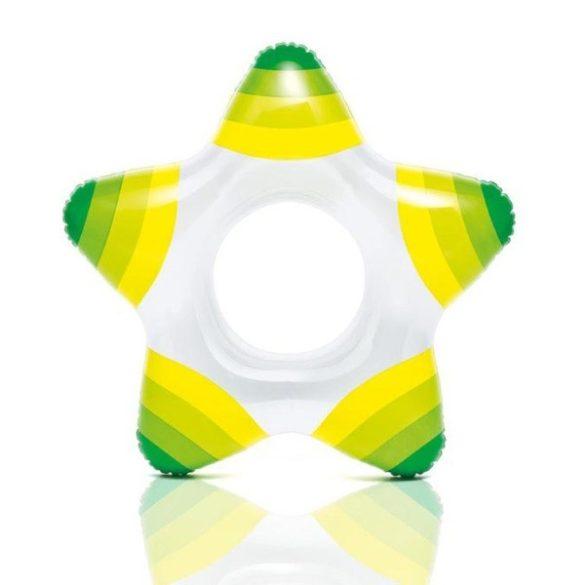 INTEX zöld csillagalakú úszógumi 74 x 71cm (59243)