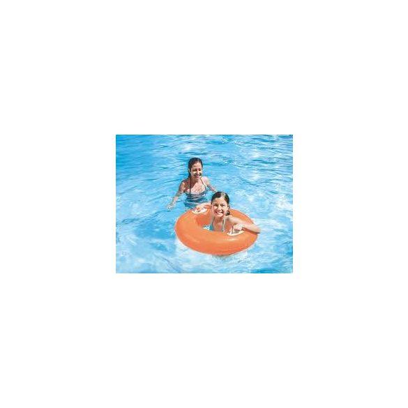 INTEX Hi-Gloss Neon narancssárga úszógumi D76cm (59258)