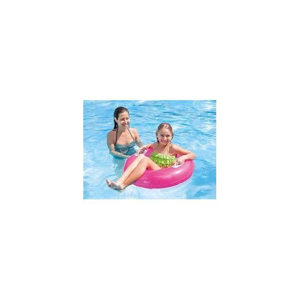 INTEX Hi-Gloss Neon rózsaszín úszógumi D76cm (59258)