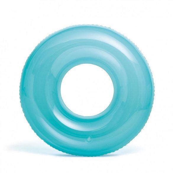 INTEX átlátszó kék úszógumi D76cm (59260)