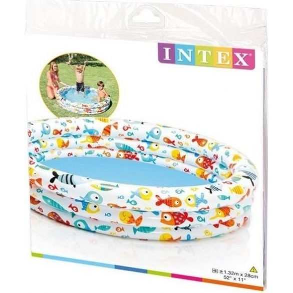 INTEX Fishbowl medence D132 x 28cm (59431)