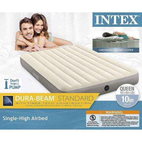 INTEX Deluxe Single-High felfújható matrac, 152 x 203 x 25cm (64103)