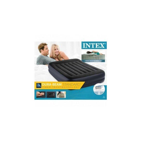 INTEX Raised felfújható vendégágy, 152 x 203 x 42cm (64124)