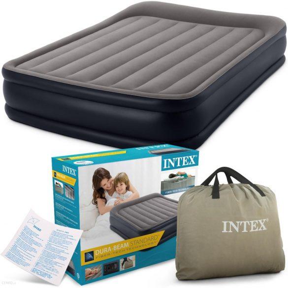 INTEX Deluxe Raised felfújható vendégágy, 152 x 203 x 42cm (64136)