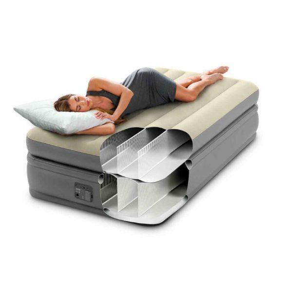 INTEX Prime Comfort Elevated felfújható vendégágy, 99 x 191 x 51cm (64162)