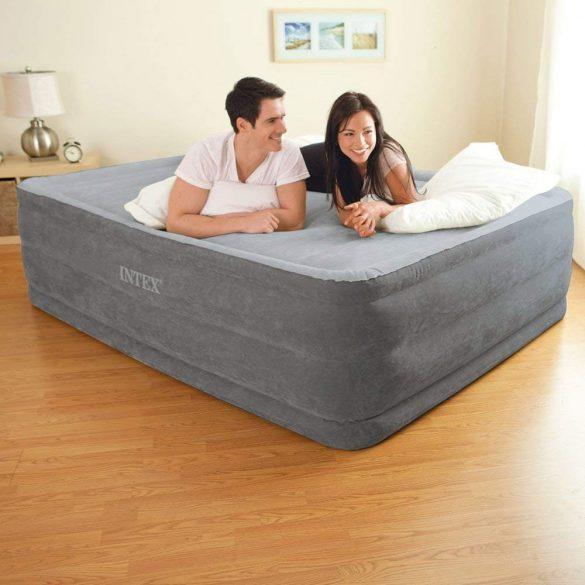 INTEX Comfort Plush felfújható vendégágy, 152 x 203 x 56cm (64418)