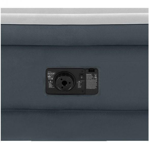 INTEX Ultra Plush felfújható vendégágy fejtámlával, 152 x 236 x 86cm (64448)