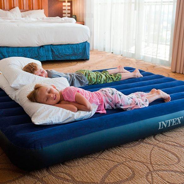 INTEX Classic Downy felfújható matrac, 183 x 203 x 25cm (64755)