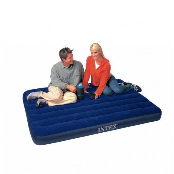 INTEX Classic Downy felfújható matrac, 137 x 191 x 25cm (64758)