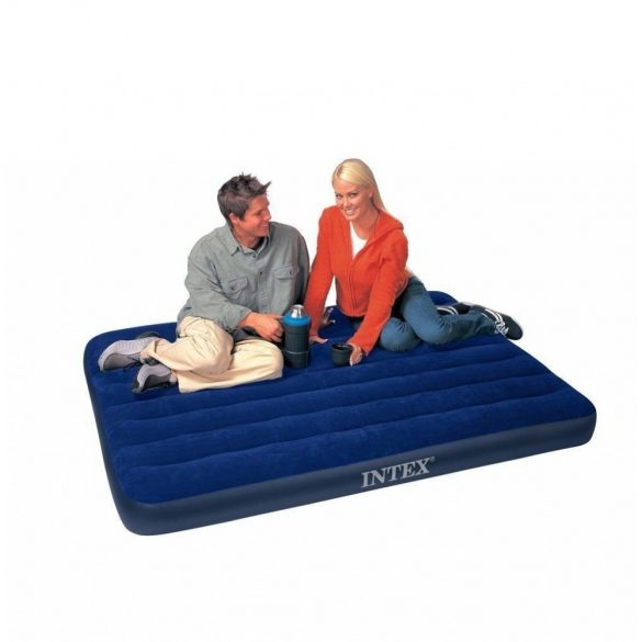 INTEX Classic Downy felfújható matrac, 152 x 203 x 25cm (64759)