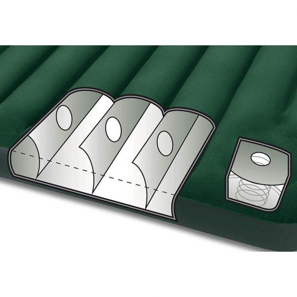 INTEX Downy felfújható matrac, 152 x 203 x 25cm (64763)