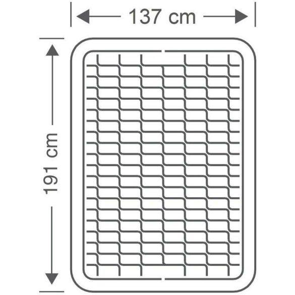 INTEX PremAire felfújható vendégágy, 137 x 191 x 46cm (64904)